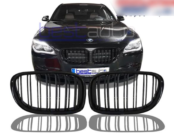 Бъбреци решетки за BMW 7-ма серия (2008-2015) F01 / F02 F03 Двойни