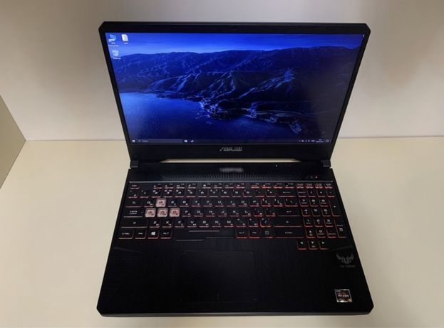 Игровой ноутбук Asus, RGB, 120ghz.