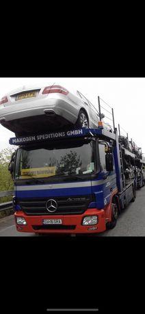 Transportor auto mercedes actros 1836 euro 5