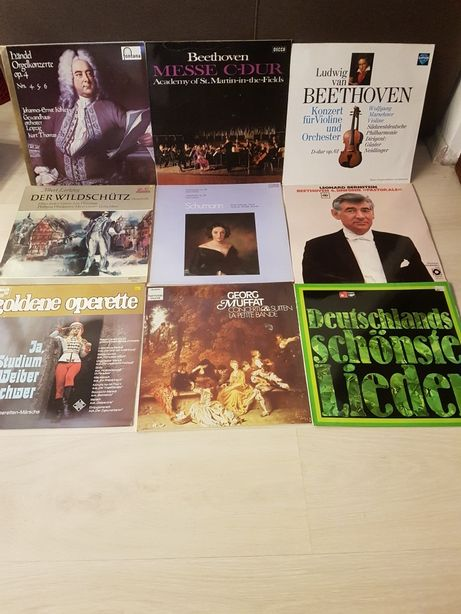 Discuri vinil MOZART LEONARD BERNSTEIN Beethoven stare ca noi