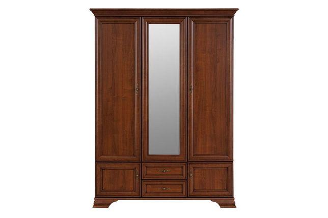 Шкаф для одежды 2Д коллекции Фантазия, Дуб Самоа, MEBEL SERVICE