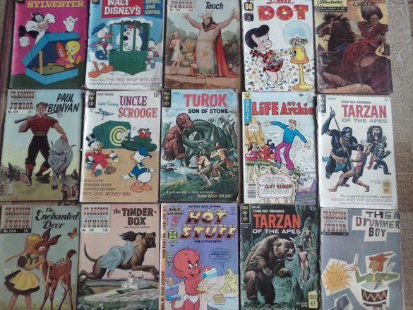 Tarzan, Uncle Scrooge, Disney стари комикси