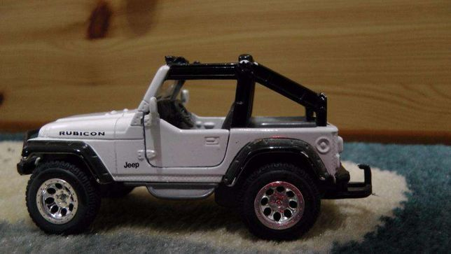 Macheta Jeep Wrangler Rubicon 2003
