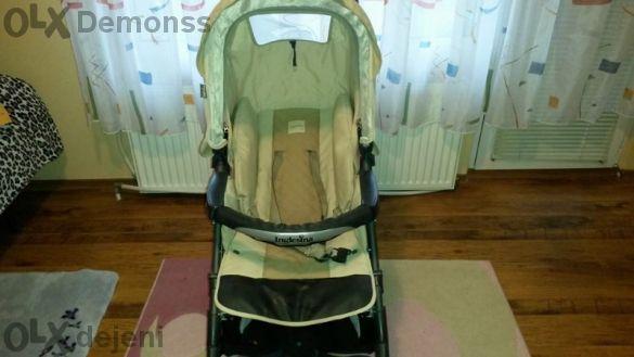 детска количка 2012 Inglesina - Бебешка количка ESPRESSO Fiordilatte