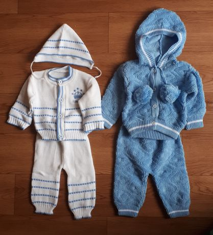 Костюмы для малыша ( от 0 до 5мес и от 5 до 1года) (цена за 2 костюма)