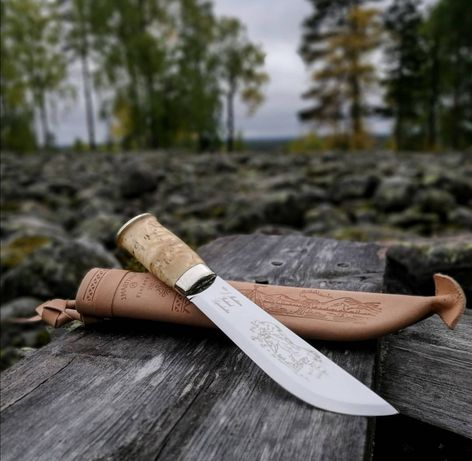 Ловен, туристически нож Marttiini Lapp, включена доставка