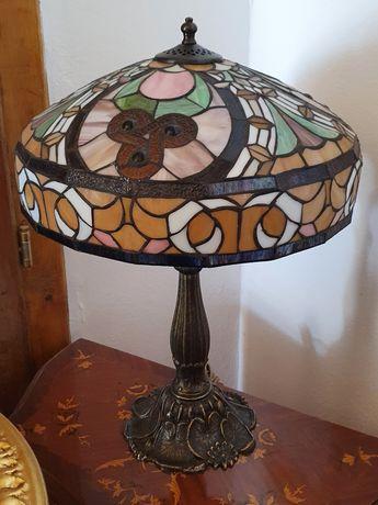 Lampă Bronz Tiffany *** vintage / antic / vechi / retro ***