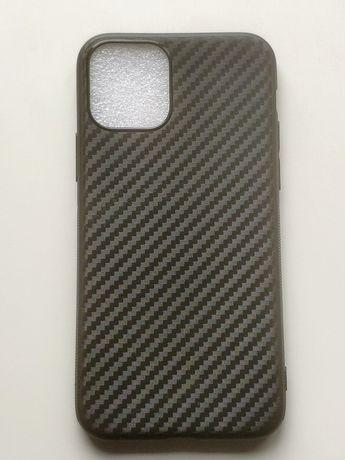 Силиконов гръб Carbon за iPhone 11, iPhone 11 Pro, iPhone 11 Pro Max