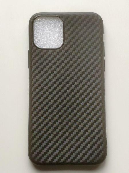 Силиконов гръб Carbon за iPhone 11, iPhone 11 Pro, iPhone 11 Pro Max гр. София - image 1