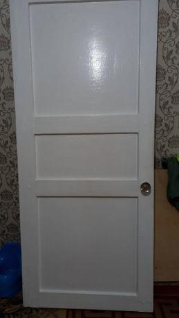 Продам Дверь белый б/у