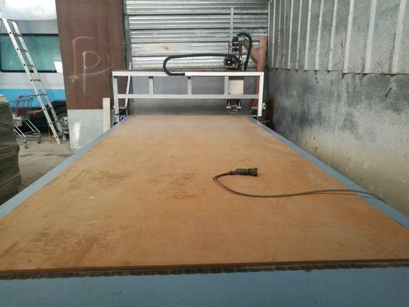 CNC рутер с работно поле 3,35х1,45 м