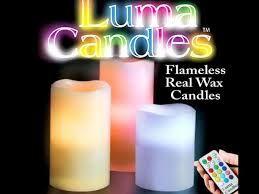 Електрически свещи Color Changing Luma Candles