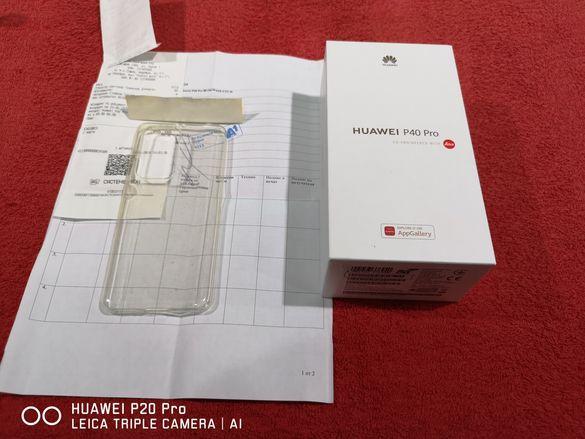 Huawei P40 Pro 5G 256gb чисто нов работещи Google сервизи 24м.гаранция