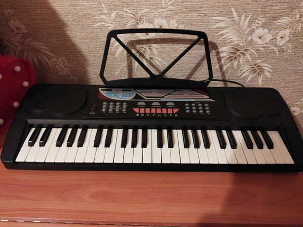 пианино- синтезатор детское