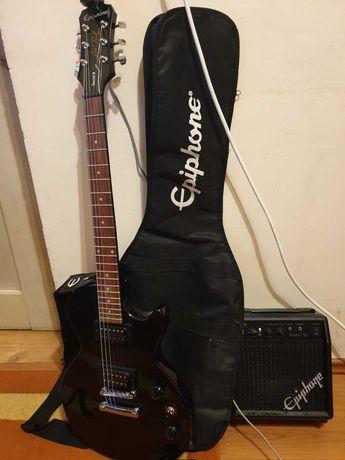 Vand Chitara Epiphone Les Paul + accesorii