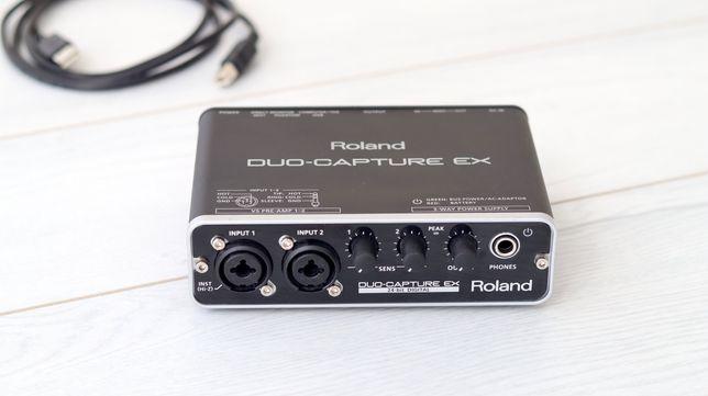 Roland Duo Capture Ex звуковая карта