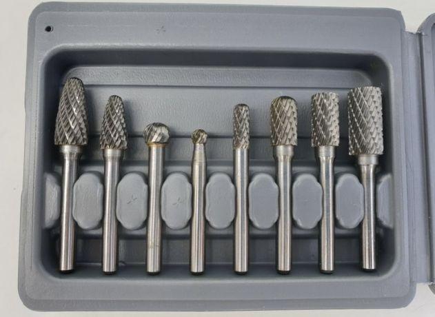 Freza metal set carbura biax