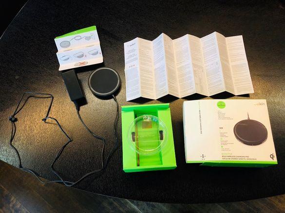 Зарядно устройство Belkin безжично за мобилни телефони