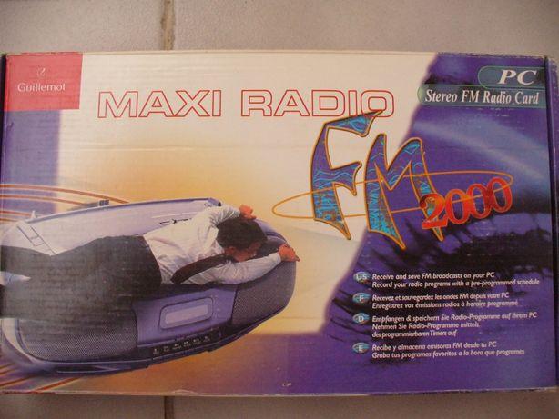Maxi Radio Stereo FM 2000 Radio Card