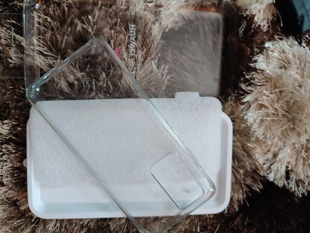 Husa originala silicon transparent Huawei p40 pro este noua nefolosita