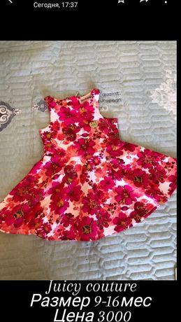 Juicy couture платье для девочки