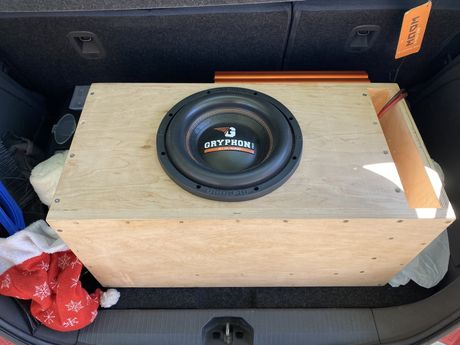 Сабвуфер Gryphon DL Audio 500 watt rms