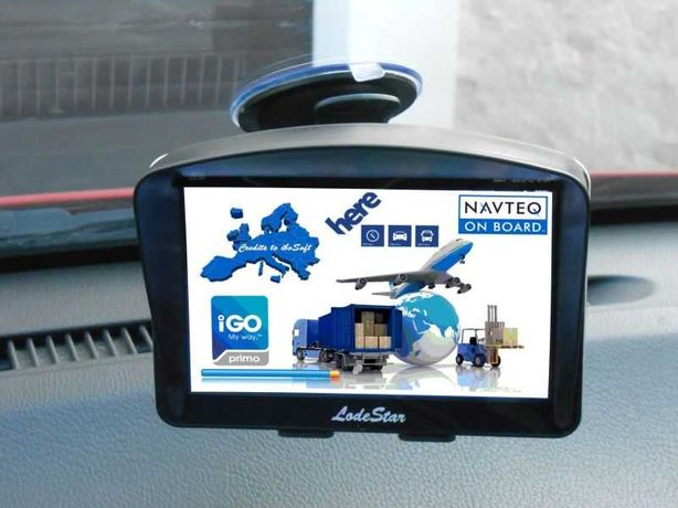 GPS 5 inch HD NOU setari pentru Camion/TIR/Autoturism harti iGO Europa