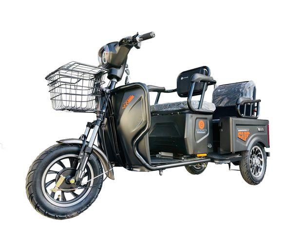 Triciclu Tricicleta Electrica 2 Locuri Baterie 20Ah Scuter TUK TUK ‼️