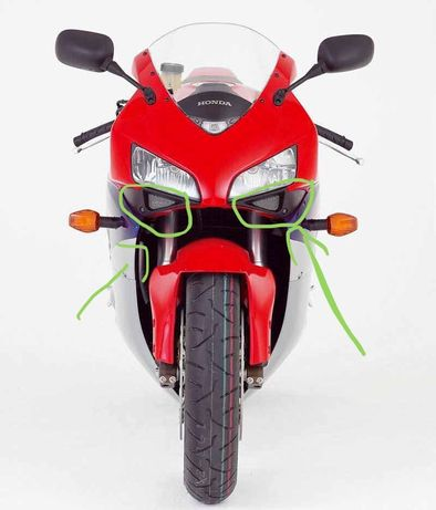Ornamente / grila aer Honda CBR1000RR 2004-2005