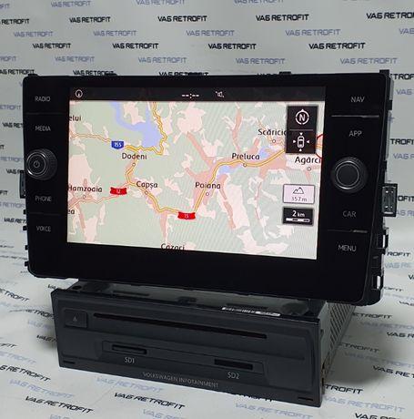 Navigatie VW Golf 7 VII Passat B8 Tiguan MIB 2 Unitate Display
