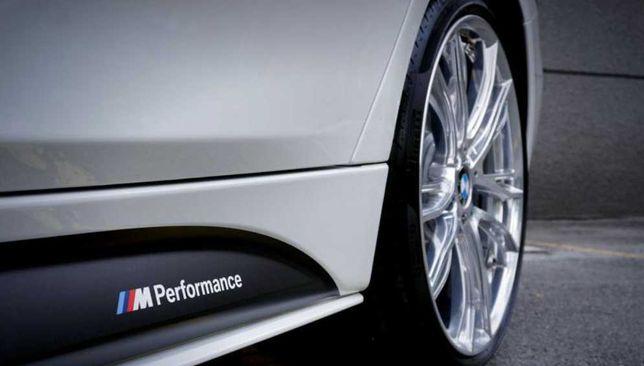 Set 2buc Colante Autocolante Benzi Praguri Prag BMW MPerformance