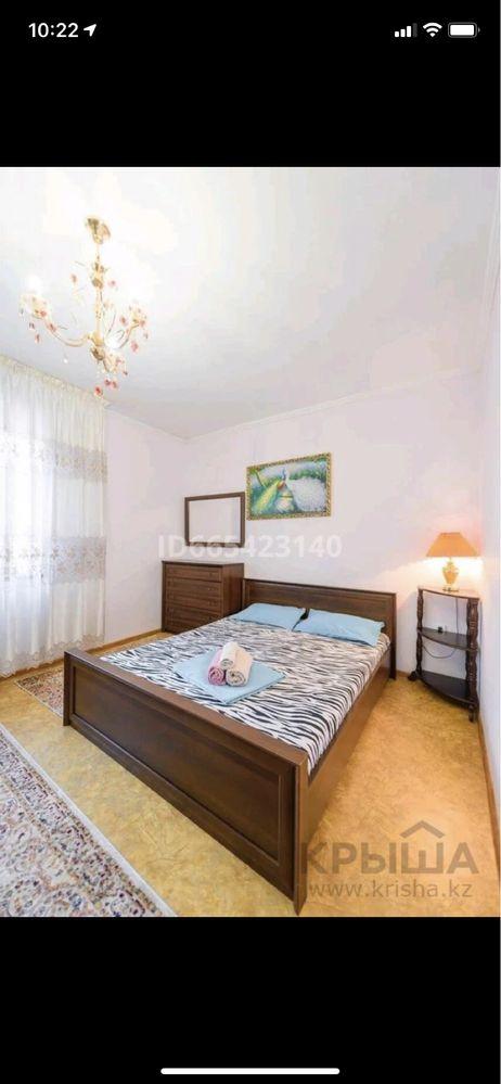 Квартиры в центре Астаны 1,2 комнатные, по часам 1000, сутки от 7000