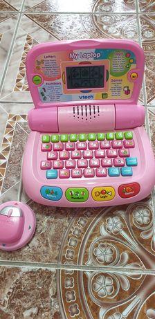 Vtech  activities laptop pentru fete