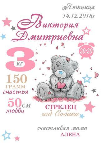 Метрика детская и love is...   500 тг