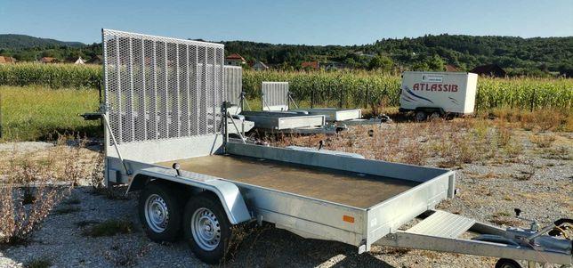 Remorca Noua transport utilaje 3500x1900 de 3500 kg C.I.V inclus