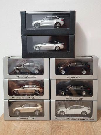 Diverse machete auto, 1:43, Porsche, BMW, Minichamps, Herpa