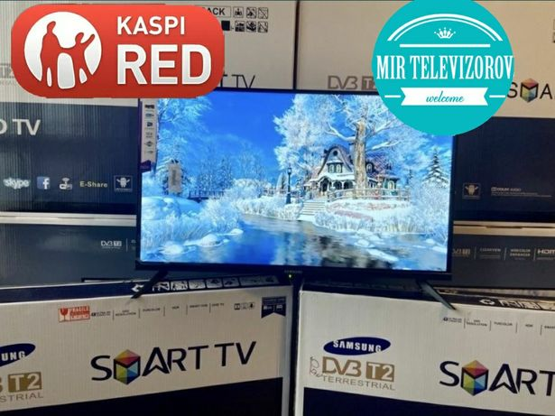 Новый телевизорSmart YouTube Wi-Fi 81.4cm тонкий led derect успей заб