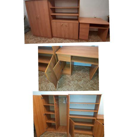 2 Шкаф (киим салуга, китап салуга), 1 стол сабак окуга