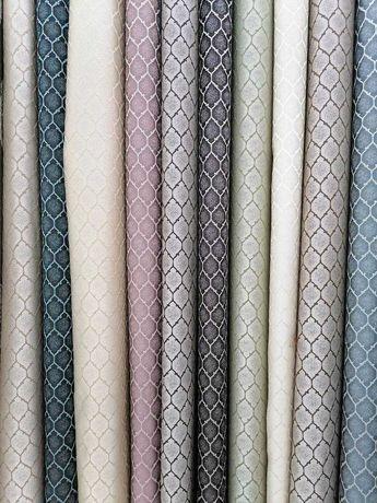 Портьерные ткани, тюли, рулонные шторы, покрывала!!