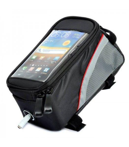 Husa, geanta, gentuta, borseta, suport telefon pentru cadru bicicleta Bucuresti - imagine 1