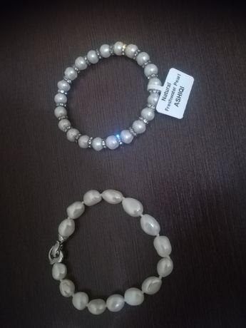 Нови гривни от естествени перли