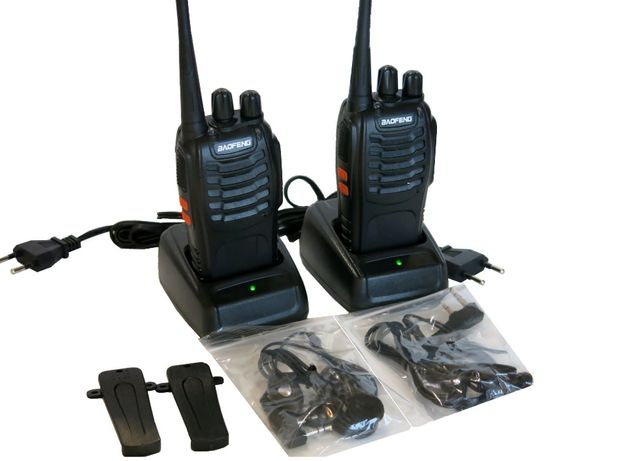 Рации портативные 2шт комплект. Baofeng BF-666s радиостанции новые!