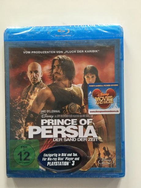 Prince of Persia The Sands of Time film original Blue Ray engleza germ