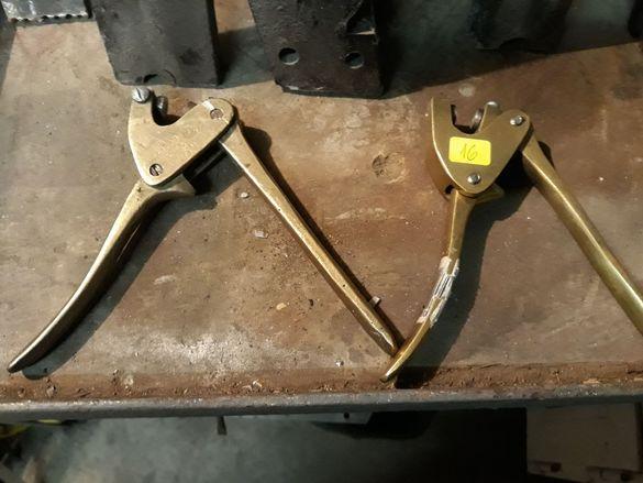 Метални пломбажни клещи