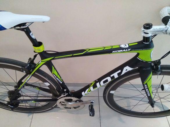 Продавам шосеен карбонов велосипед KYOTA kobalt 2018