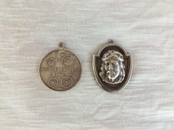 Сребърни медалъони