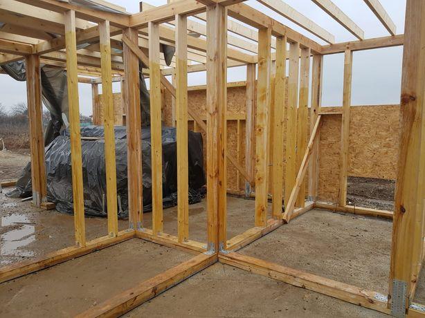 Mester in construcții case din lemn și alte structuri din lemn