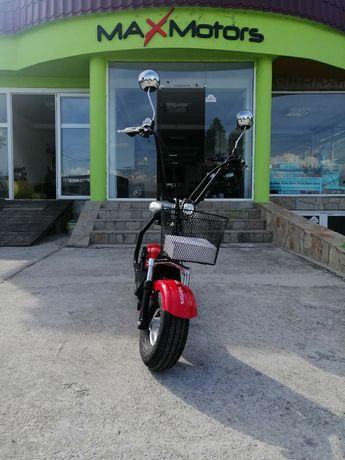 Електрически СКУТЕР City Harley Maxmotors 1200wNEW MODEL