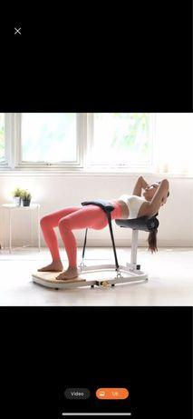 Aparat fitness pentru fesieri si abdomen