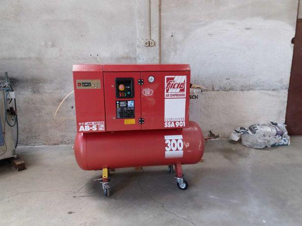 Compresor industrial cu uscator Fiac